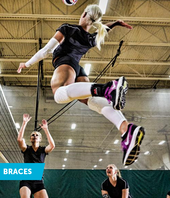 de beste volleybal braces