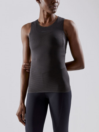 Craft Sportswear Pro Dry Nanoweight Sleeveless Dames Zwart