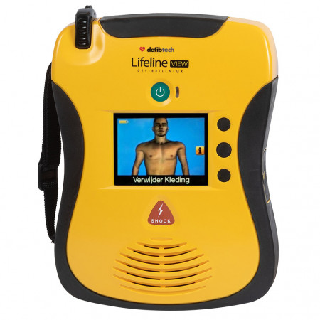 Defibtech Lifeline VIEW AED (semi-automaat)