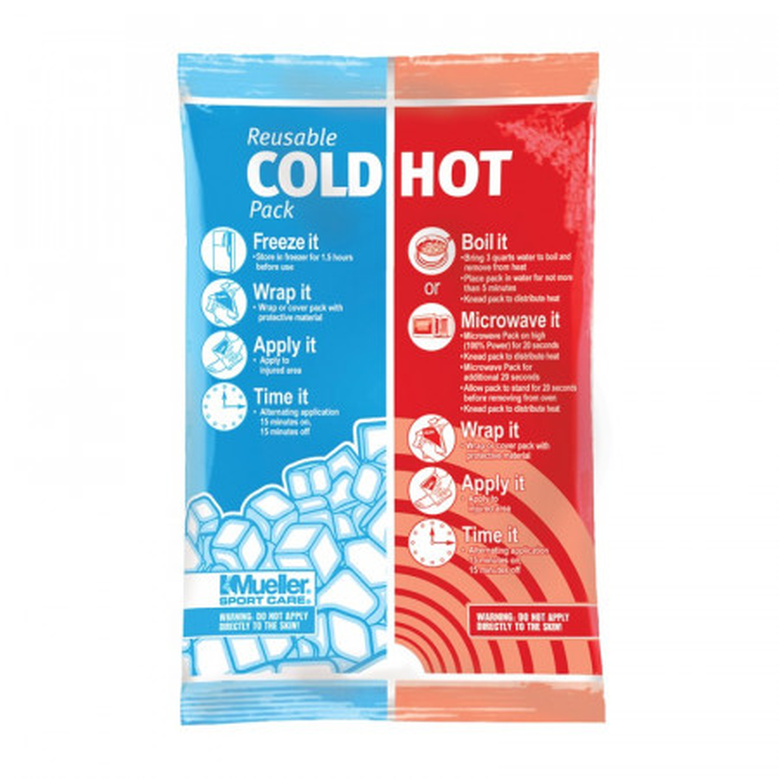 Mueller Cold/Hot Pack Regular (15,2 x 22,8 cm) (herbruikbaar)