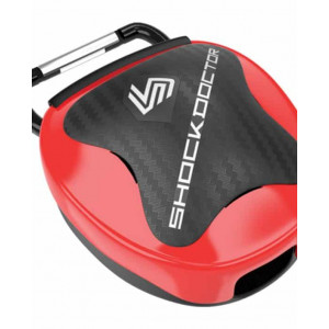 Shock Doctor Mouthguard Case Red