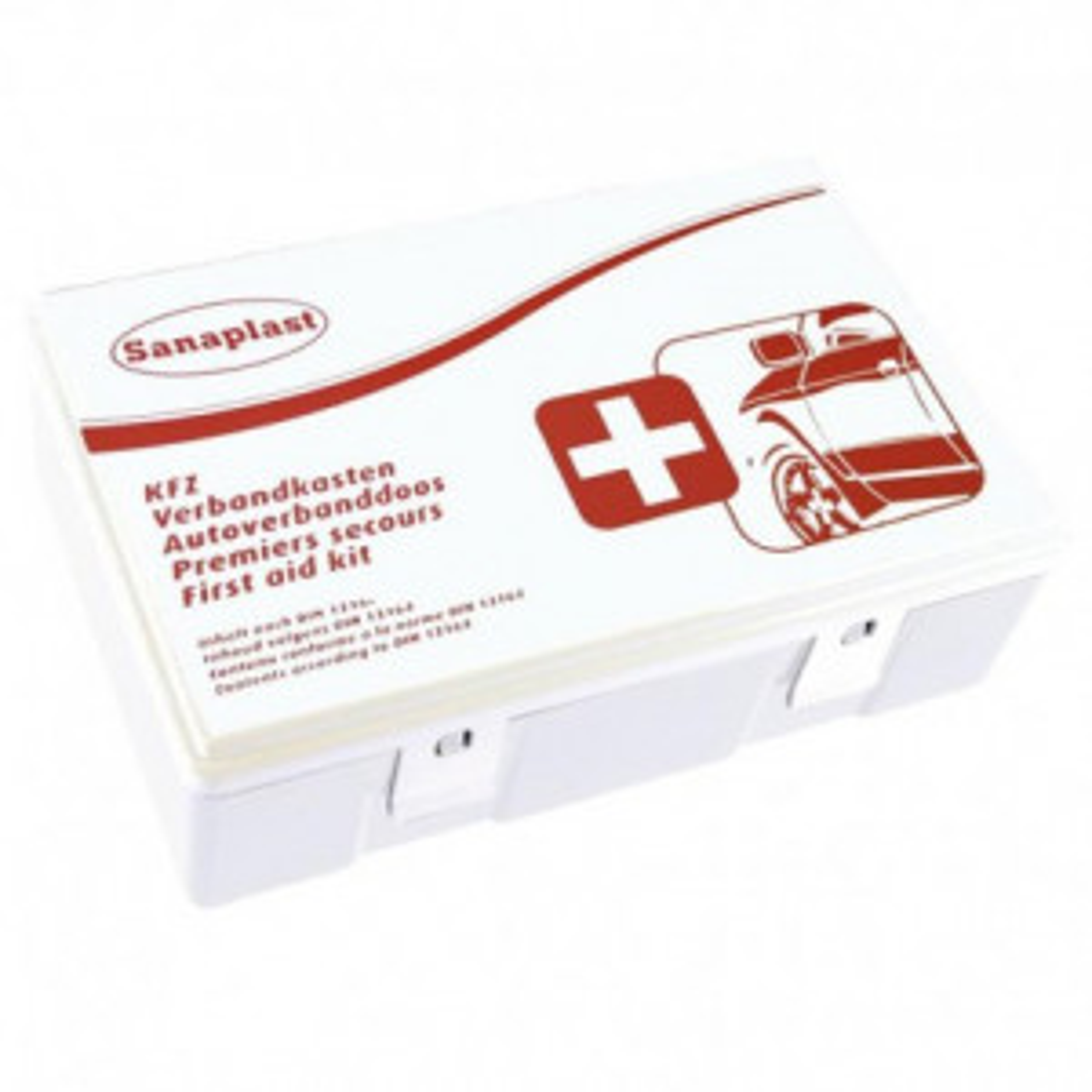 Sanaplast Autoverbanddoos Internationaal (DIN 13164)