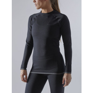 Craft Sportswear Advanced Warm Fuseknit Intensit Longsleeve Dames Zwart