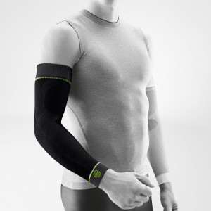 Bauerfeind Sports Compression Armsleeve Zwart