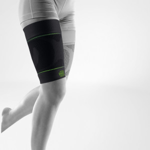 Bauerfeind Sports Compression Dijbeensleeve Zwart