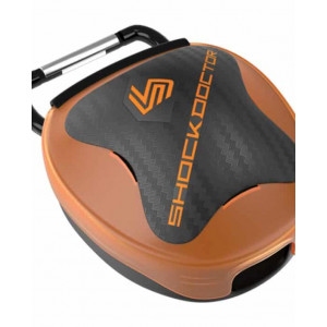 Shock Doctor Mouthguard Case Orange