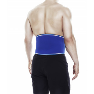 Rehband Back Support Blue Line