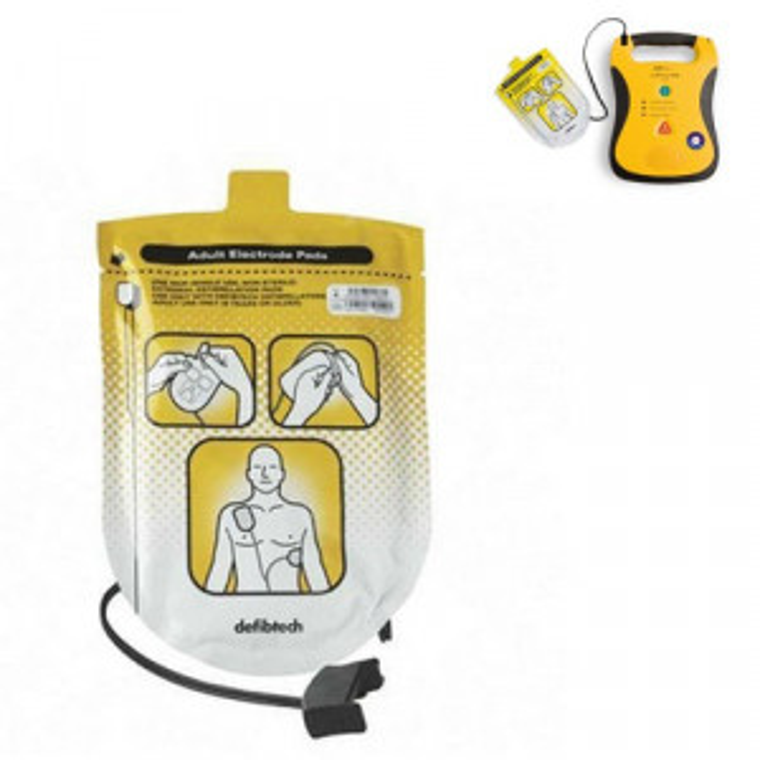 Defibtech Elektroden Lifeline AED