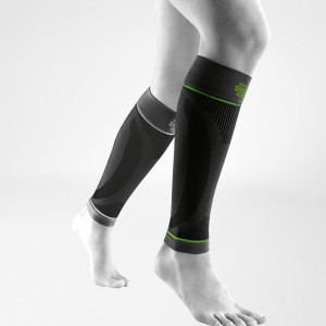 Bauerfeind Sports Compression Kuitsleeve Zwart