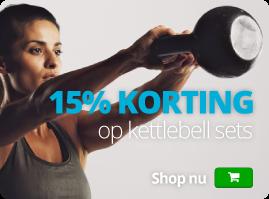 Kettlebells met korting