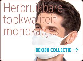 Topkwaliteit herbruikbare mondkapjes