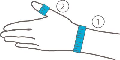 Bauerfeind Rhizoloc meetinstructie