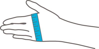 Push Ortho Duimbrace CMC meetinstructie