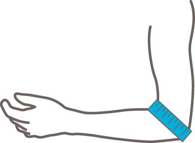Rehband Elbow Support 7720 meetinstructie