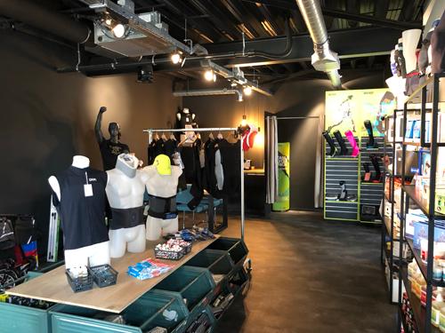 De showroom van All4Fysio